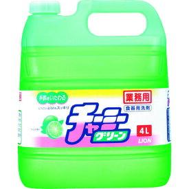 食器洗剤 ライオン 業務用チャーミーグリーン4L [SYCG4E] SYCG4E 販売単位:1