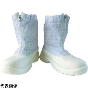作業靴 ワークシューズ 安全靴 クリーンルーム用シューズ おすすめ 作業用 くつ ブラストン 安全制電ハーフブーツ 27.0 [BSC-5264-27.0] 販売単位:1 送料無料