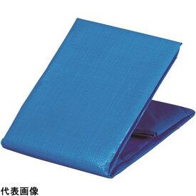 TRUSCO トラスコ中山 防炎シートα軽量 ブルー 幅1.8mX長さ3.6m [GBS1836A-B] GBS1836AB 販売単位:1