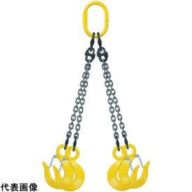 キトー キトーチェンスリング100標準セット品(アイタイプ) 4本吊り 基本使用荷重3.2t [Q-HM-HTS-7.0-1.5-SET] QHMHTS7.01.5SET 販売単位:1 送料無料