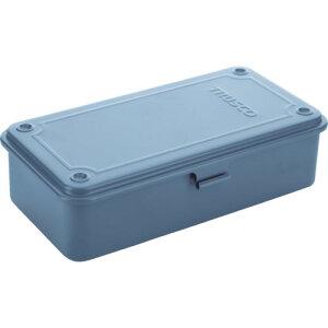 スチール製 工具箱 工具入れ 収納 整理 diy おすすめ 大工道具 ケース TRUSCO トラスコ中山 トランク型工具箱 203X109X56 アーセナルグレイ [T-190DG] 販売単位:1