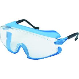 ウィルス対策 ゴーグル 防塵 眼鏡の上からかけられる UVEX 一眼型 保護メガネ オーバーグラス [X-9196] X9196 販売単位:1 送料無料