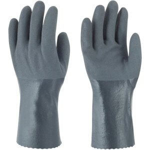 ニトリルゴム手袋 裏布付 トワロン ニトリルゴム手袋 耐油ニトリルパワーロング 3L [502-3L] 販売単位:1