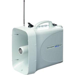 拡声器 ユニペックス 30W 防滴スーパーワイヤレスメガホン レインボイサー [TWB-300] 販売単位:1 送料無料