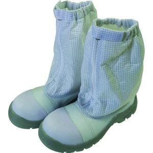 作業靴 ワークシューズ 安全靴 クリーンルーム用シューズ おすすめ 作業用 くつ ブラストン 制電安全ハーフブーツ 23.5 [BSC-9526-23.5] BSC952623.5 販売単位:1 送料無料