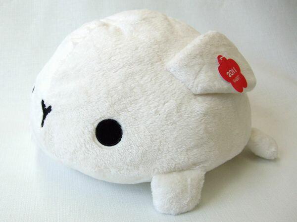 ムニュマム クッション ウサギ WHITE(ホワイト) サイズ:30cm