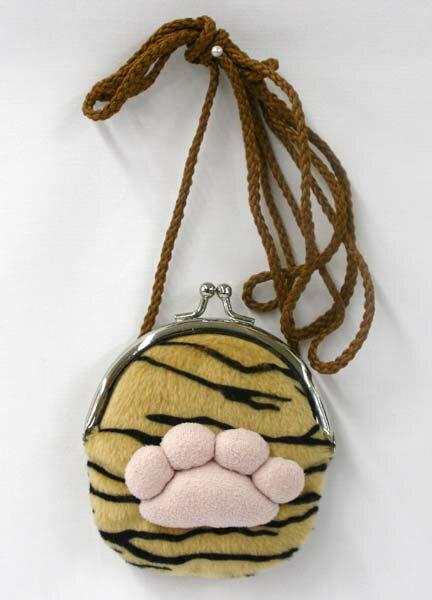 肉球がま口 タイガー サイズ:9cm
