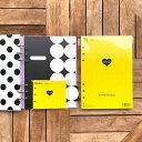 ラブリーフ システム手帳 リフィル A5 6穴 LOVEドット罫 100枚+インデックス さらに かわいいメモ帳付【母の日 おしゃ…