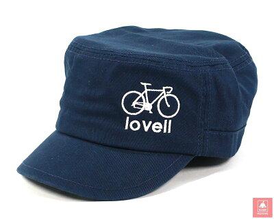 【送料無料】コットンワークキャップ自転車cottonworkcapおしゃれメンズレディース帽子サイクリングラベルlovell