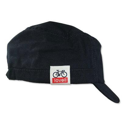 コットンワークキャップ自転車cottonworkcapおしゃれメンズレディース帽子サイクリングラベルlovell