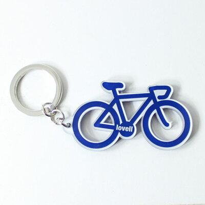 [lovellラベル]雑貨キーホルダー自転車ブランドオリジナルグッズ!key-redマウンテンバイク