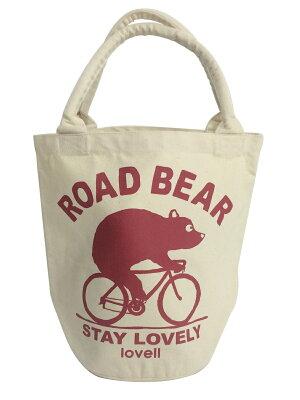 キャンバスバケットバッグ自転車ラベル