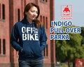 【送料無料】インディゴプルオーバーパーカINDIGOPULLOVERPARKAラベルlovellアパレルオシャレサイクリング自転車