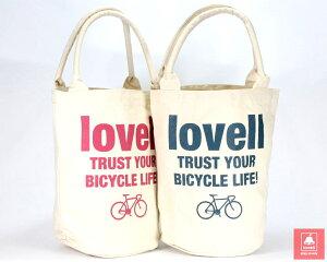 バケツバッグバケツおしゃれキャンバスバケットバッグロードベア自転車ラベル