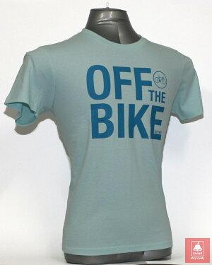 コットンTシャツオフザバイクCOTTONT-SHIRTOFFTHEBIKEラベル自転車ロードバイククロスバイク