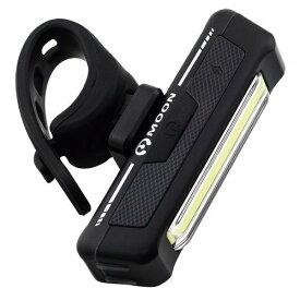 自転車 ライト MOON(ムーン) moon LEDフロントライトCOMET BK AKI WORLD ロードバイク クロスバイク USB充電 2021start 防災 夜間 防犯 TOP