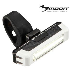 自転車 ライト MOON(ムーン) moon LEDフロントライトCOMET WH AKI WORLD クロスバイク ロードバイク サイクルライト USB充電 2019start 防災 夜間 防犯