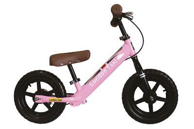 【■7月初旬頃入荷/予約ご注文承ります!】バランスバイクキックバイクLondonTaxi(ロンドンタクシー)子供用ブレーキペダル無し自転車2020start
