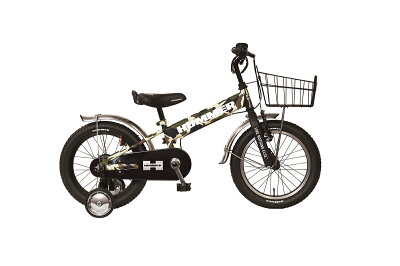 HAMMERハマーKID'STANK3.0-SE子供用自転車三輪車カモフラージュグリーン迷彩キックバイクバランスバイク