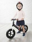 ロンドンタクシーキックバイクバランスバイクブレーキスタンドブラック黒自転車子供ペダルなし自転車