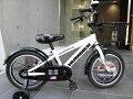 【特価限定販売!】送料無料子供自転車16ピンクかわいい補助輪子供自転車16インチホワイト白
