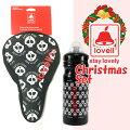クリスマスプレゼントセットタイプB自転車サドル自転車ボトルブラックおしゃれかわいい