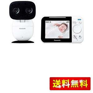 パナソニック モニター付き屋内カメラ スマ@ホーム 設定不要 ベビーモニター KX-HC705-W