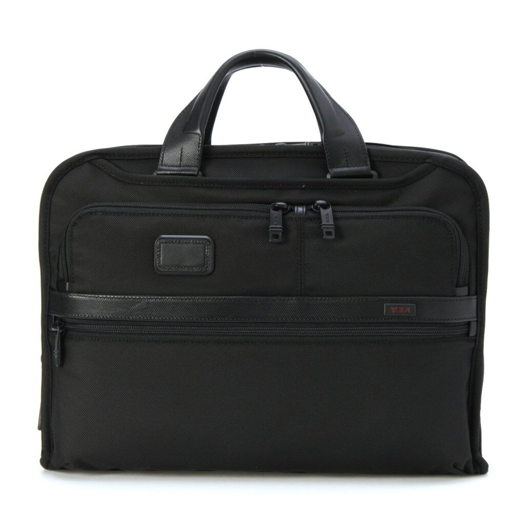 TUMI トゥミ ビジネスバッグ オーガナイザー・ポートフォリオ・ブリーフ 26108 BLACK