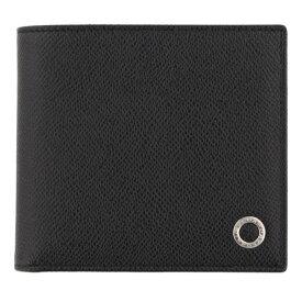 347db509bffd BVLGARI ブルガリ 二つ折り財布 ブラック メンズ ブルガリ ブルガリ 30396 BLACK