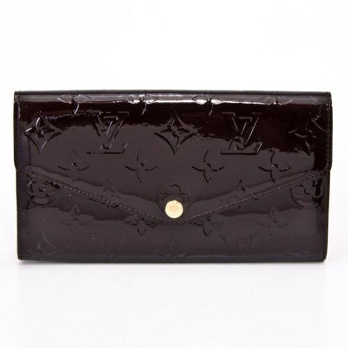 LOUIS VUITTON ルイヴィトン 財布 M90152 ヴェルニ ポルトフォイユ・サラ