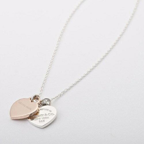Tiffany&Co. ティファニー リターン トゥ ダブル ハート ペンダント ミニ ルベド メタル 30872533