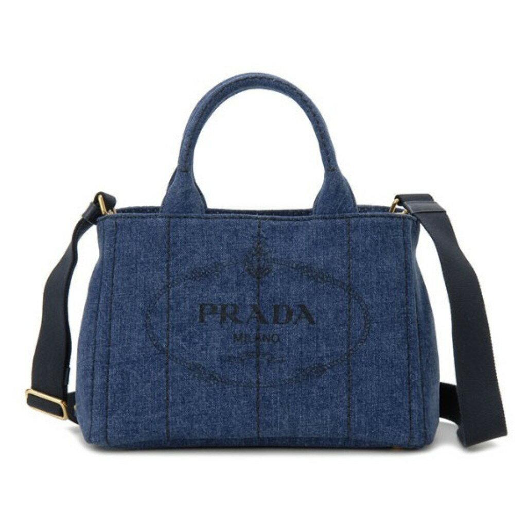 PRADA プラダ CANAPA カナパ トートバッグ 1BG439 AJ6 F0008 BLUE
