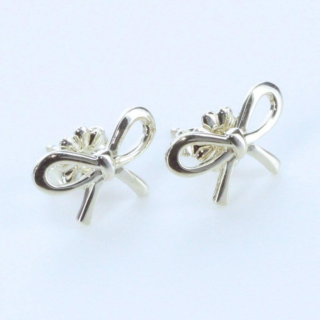 Tiffany&Co. ティファニー リボン ピアス ミニ 25142896