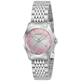 【24時間限定ポイント10倍】グッチ 腕時計 レディース YA126534 G-タイムレス