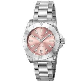 【期間限定ポイント5倍】GUCCI グッチ 腕時計 レディース ダイヴ ピンク YA136401