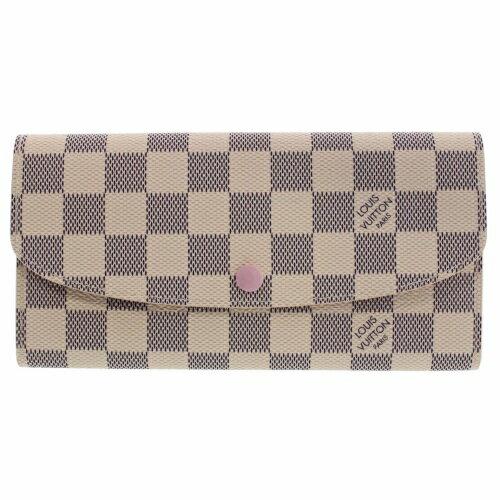 LOUIS VUITTON ルイヴィトン 財布 N41625 ダミエ・アズール ポルトホイユ・エミリー