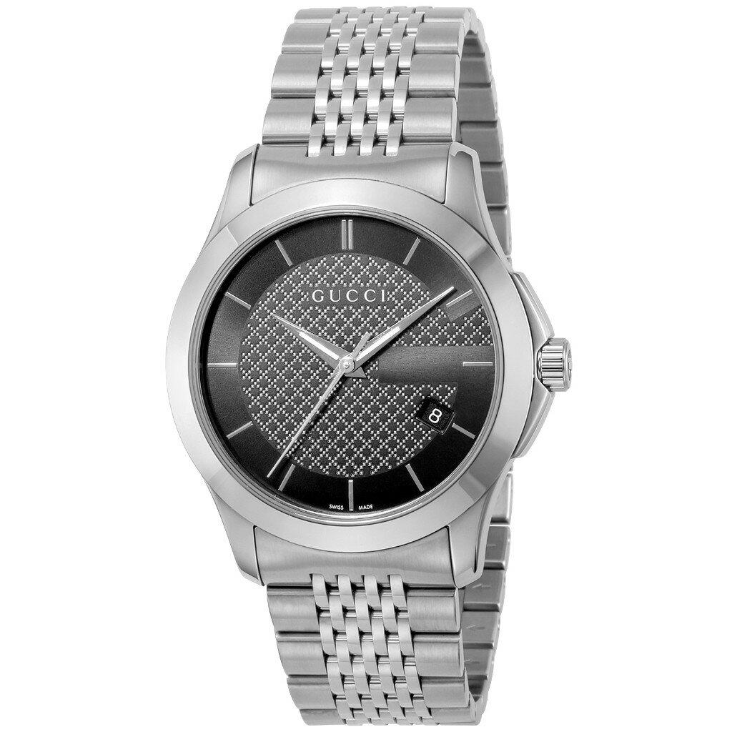 GUCCI グッチ 腕時計 メンズ YA126480 Gタイムレス