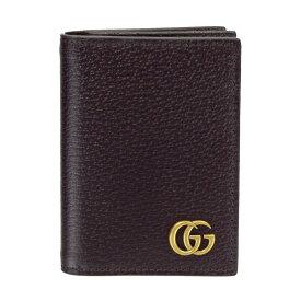 GUCCI グッチ カードケース 428737 DJ20T 2145 レザー GGマーモント