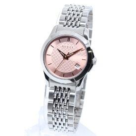 【期間限定ポイント5倍】GUCCI グッチ 腕時計 レディース Gタイムレス YA126566 ピンク