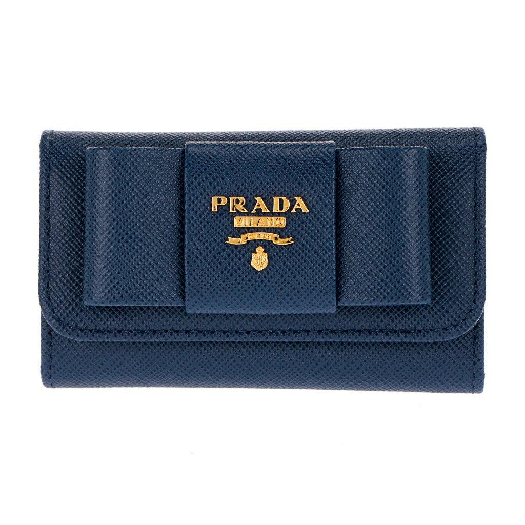 プラダ キーケース 1PG222 F0016 BLUETTE