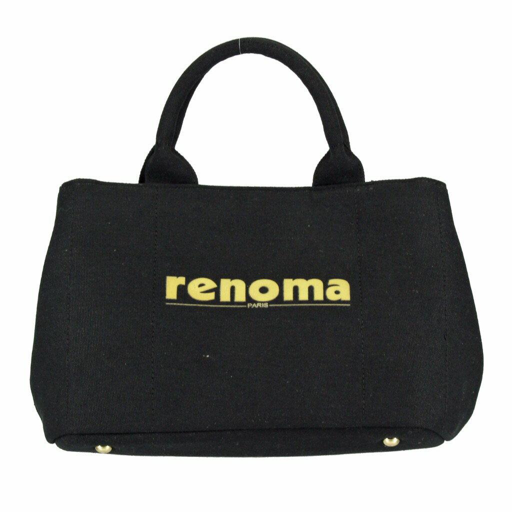 renoma レノマ 2wayバッグ RE1505001 04506T BLACK トートバッグ 【dl】