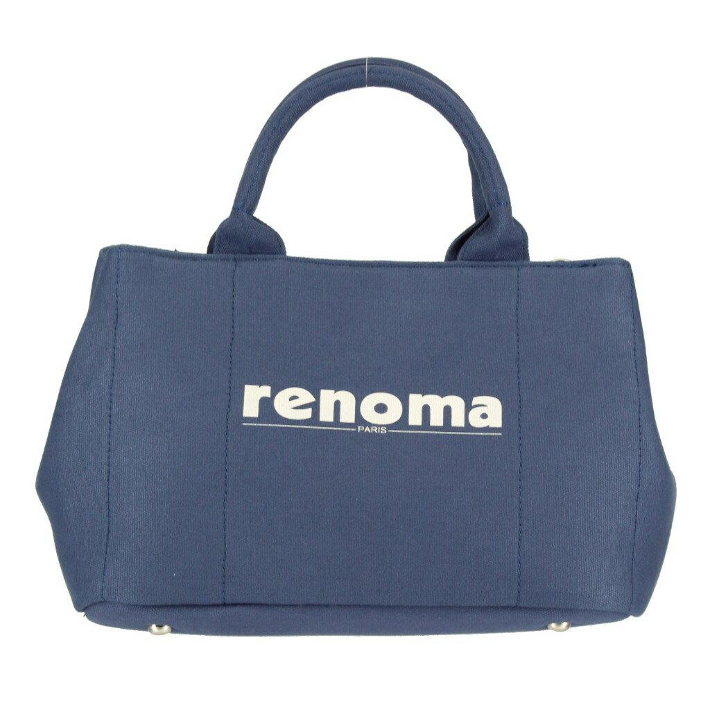 renoma レノマ 2wayバッグ RE1505001 21302 NAVY トートバッグ 【dl】