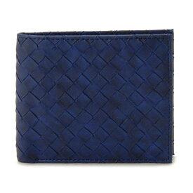 monte SPIGA モンテスピガ 財布 メンズ MOSQS371NV ネイビー 二つ折り財布