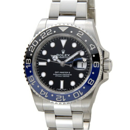 ROLEX ロレックス GMTマスターII 116710BLNR ブラック 腕時計 メンズ