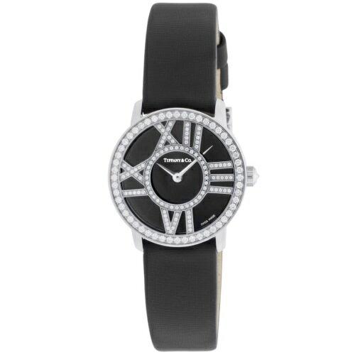 Tiffany&Co. ティファニー 腕時計 レディース アトラス カクテル ラウンド Z1900.10.40E10A40B