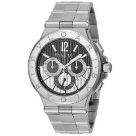 【26時間限定ポイント5倍 6/25 0時スタート】BVLGARI ブルガリ 腕時計 メンズ ディアゴノ カリブロ303 DG42BSSDCH