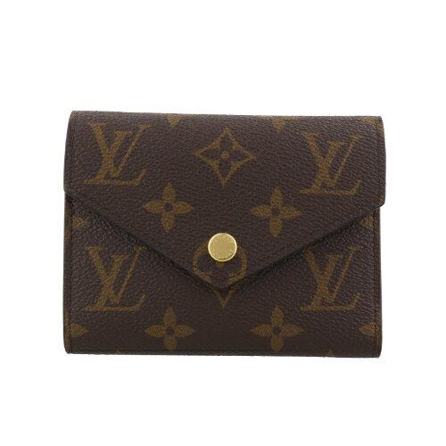 LOUIS VUITTON ルイヴィトン 財布 M41938 モノグラム ポルトフォイユ・ヴィクトリーヌ