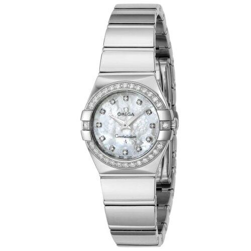 OMEGA オメガ 腕時計 レディース コンステレーション クォーツ 123.15.24.60.55.005