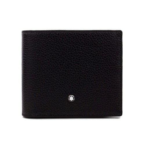 MONTBLANC モンブラン 二つ折り財布 メンズ ブラック 114464