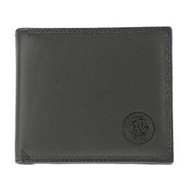 HUNTING WORLD ハンティングワールド 二つ折り財布 メンズ ブラック BATTUE ORIGIN 320 13A